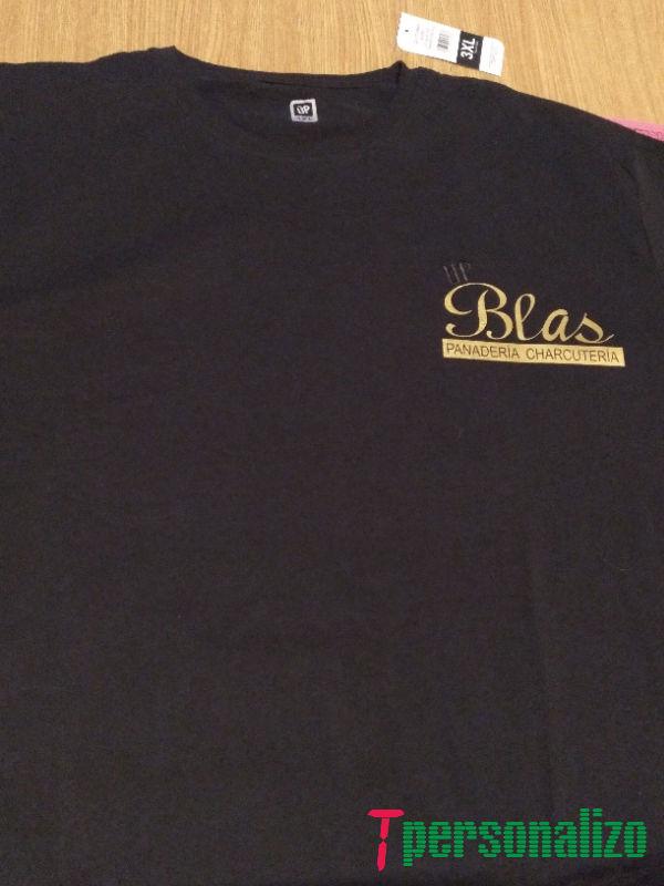 Camiseta corporativa delante