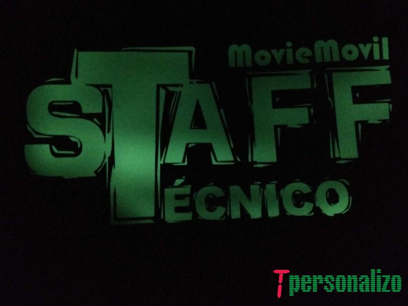 Camiseta detrás MovieMovil la empresa del cine