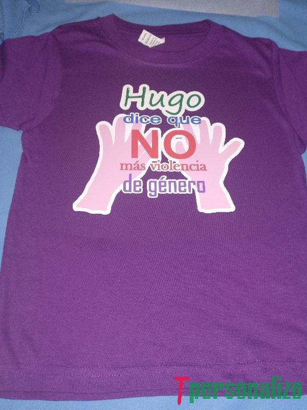 Camiseta personalizada vinilo imprimible