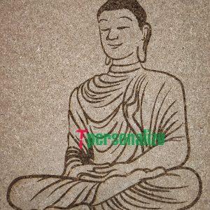 Grabado Buda