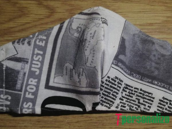 Mascarilla tela 3 capas