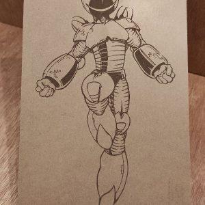 Alien traje espacial