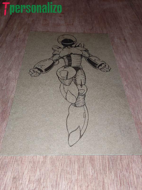 Alien con traje espacial